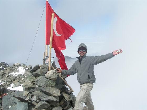 פסגת הקצ'קר, טורקיה.