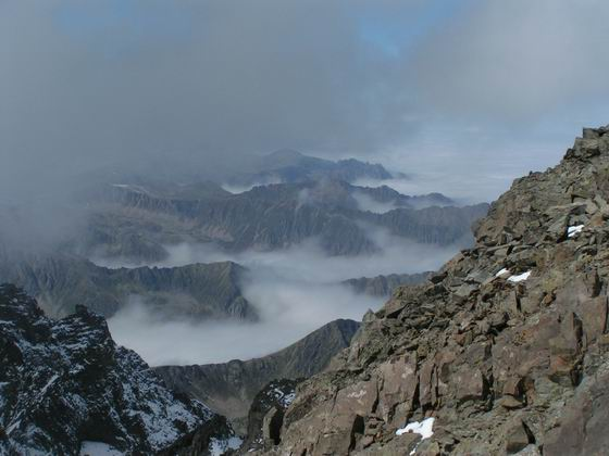 הנוף מפסגת הקצ'קר, טורקיה.