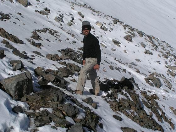 בדרך לפסגת הקצ'קר, טורקיה.
