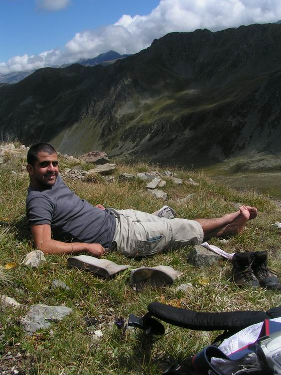 טרק סובב רכס הקצ'קר, טורקיה.