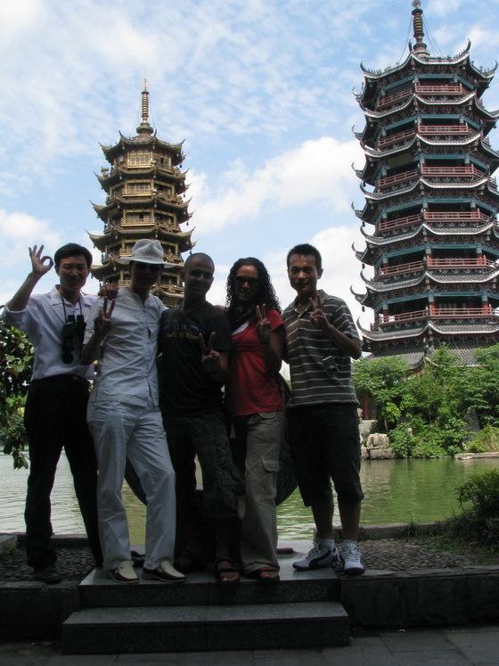 סינים בגווילין, סין
