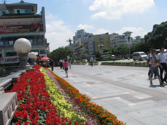 מרכז העיר בגווילין, סין