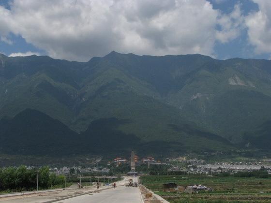 הרים גבוהים מעל �אלי, סין