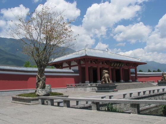 מבצר ב�אלי, סין