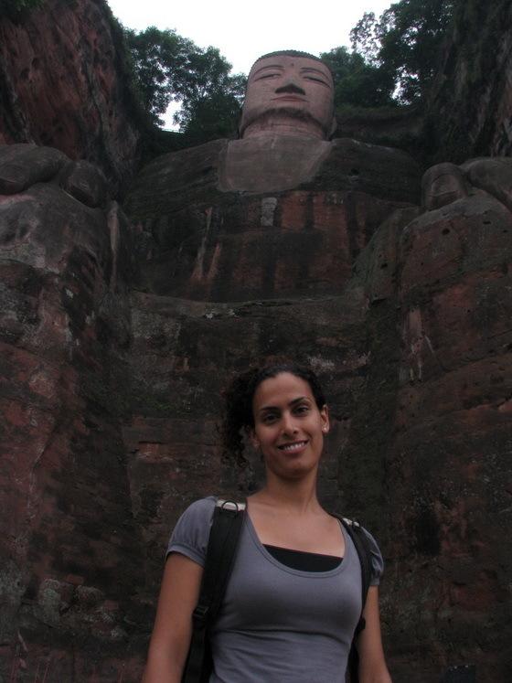 פסל של בו�הה בסין