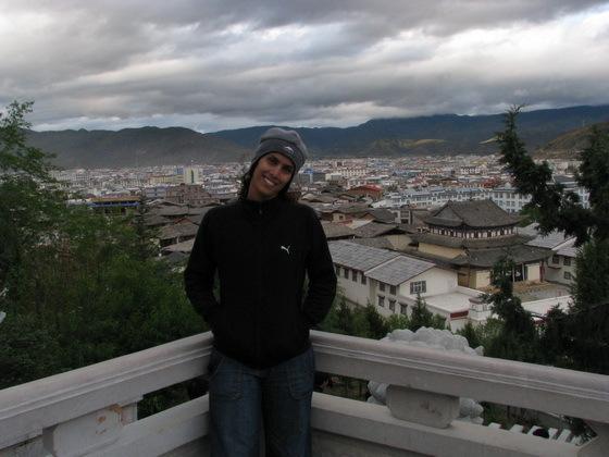 תצפית על העיר שנגרילה