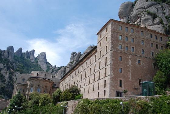 מנזר מונסראט, ברצלונה.