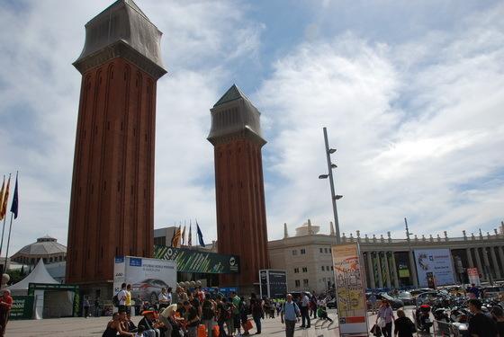 כיכר אפסניה, ברצלונה, ספר�