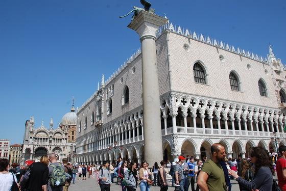 כיכר סאן מרקו, ונציה.