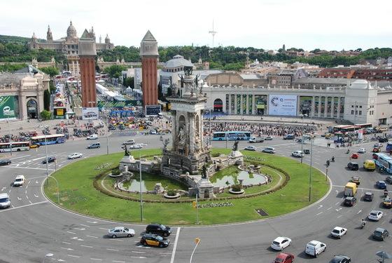 כיכרות בברצלונה