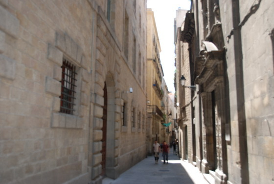טיול בסמטאות ברצלונה