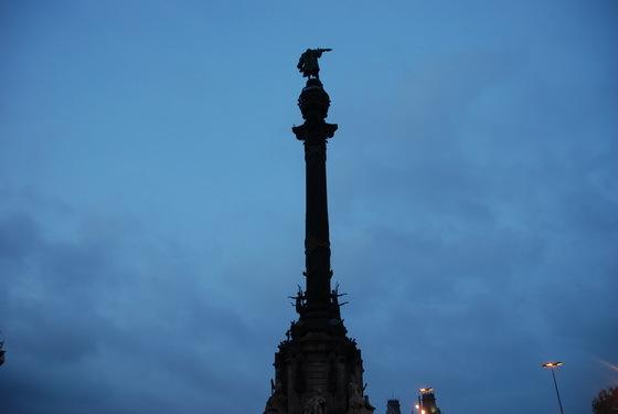 פסל קולומבוס בברצלונה