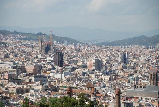 תצפית מהר היהו�ים בברצלונה