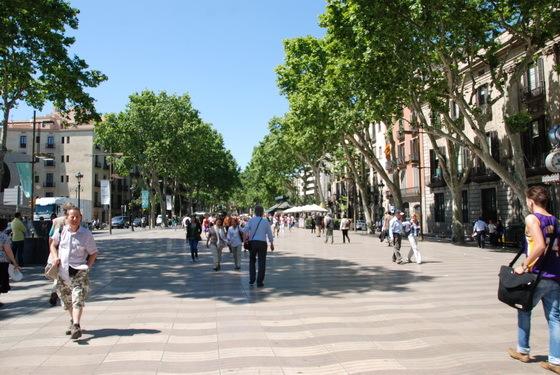 רחוב הרמבלס ברצלונה