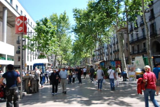 רחוב הרמבלס