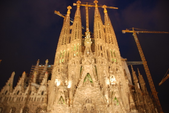 כנסייה בברצלונה המשפחה הק�ושה