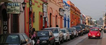 מקסיקו - רחובות סאן-קריסטובל