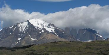 הרים מושלגים בדרום אמריקה