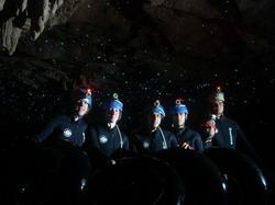 מערות וואיטומו   Waitomo Cave