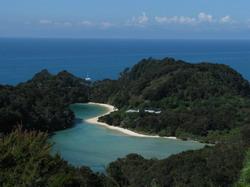 טרק בפארק הלאומי אבל-טזמן  Abel Tasman National Park
