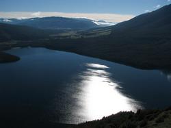 טרק בפארק הלאומי אגמי נלסון Nelson Lakes National Park