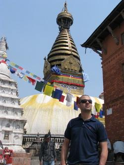 מקדש הקופים נפאל