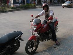 אופנועים בעמק קטמנדו