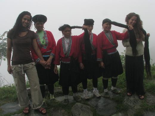 שבט ארוכות השיער בסין