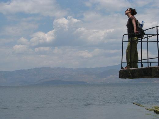 אגם בסין
