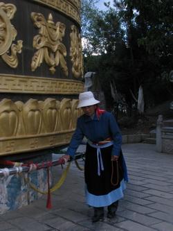 גלגלי תפילה סין