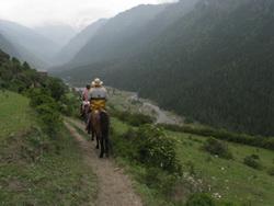 טרק סוסים בסיצואן