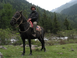 טרק סוסים בסין