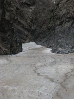 קרחון במדבר