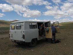 טיול גיפים במונגוליה