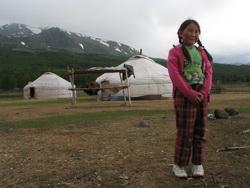 גר במונגוליה