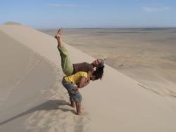 דיונות במדבר מונגוליה