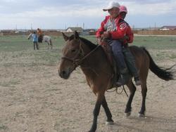 ילדים מונגולים