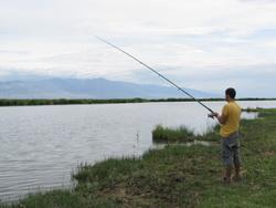דייג במונגוליה