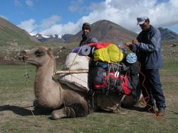 טרק במערב מונגוליה