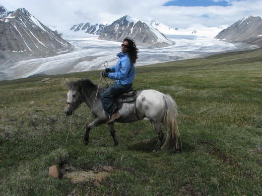 טרק סוסים במונגוליה