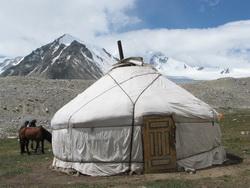 גר במערב מונגוליה