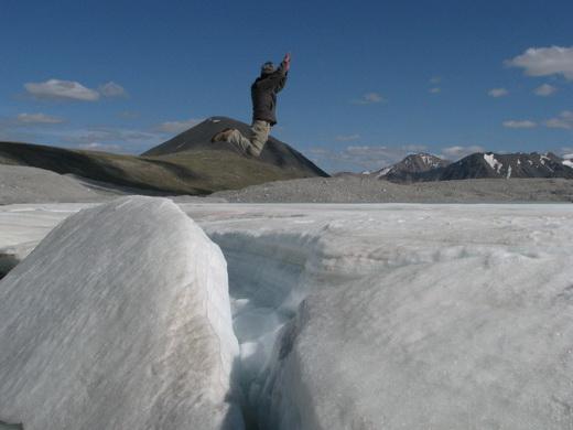 קרחון במונגוליה