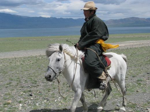 מונגולי על סוס