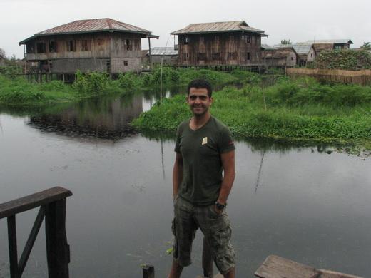 אגם  inle בורמה