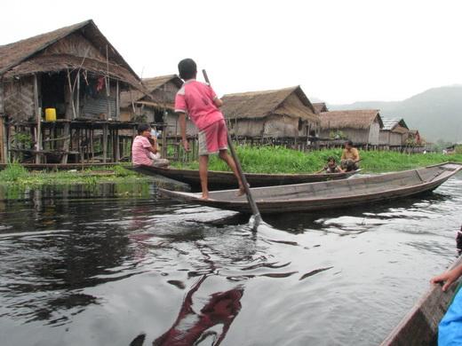 בורמה אגמים