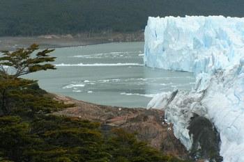 אל קלפטה והקרחון המתנפץ